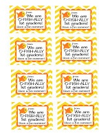 FREE End of the School Year Treat Bag Tags
