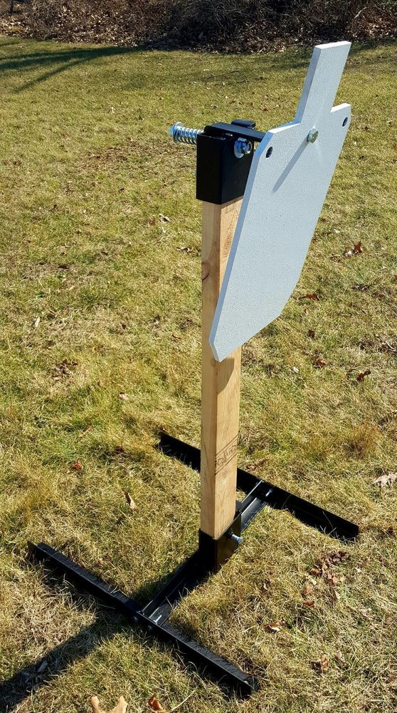 Gong Steel Target Stand and hanger, target not included | Sporting Goods, Hunting, Range & Shooting Accessories | eBay!