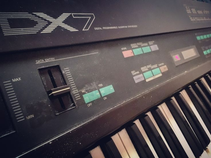 Old dirty Dx7!! Love it