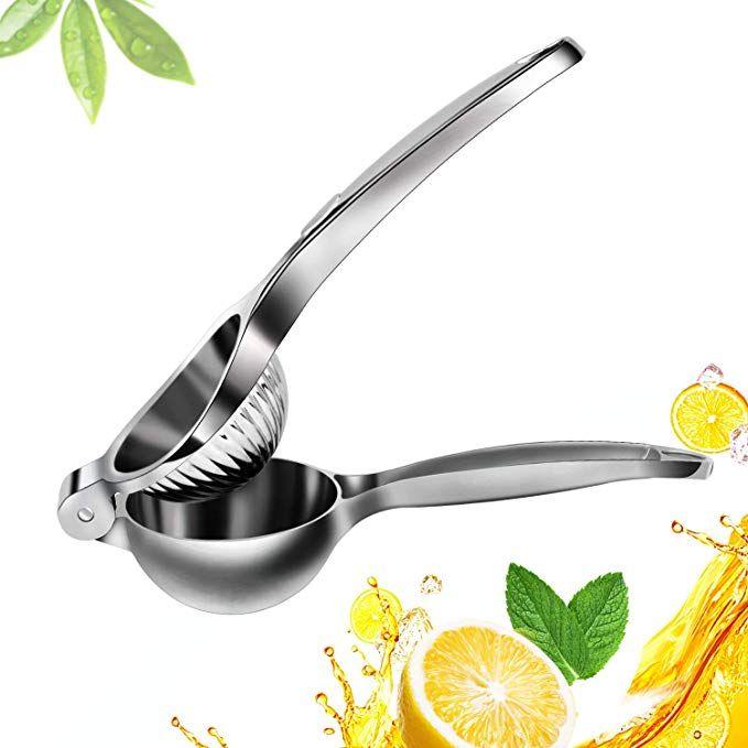 Lemon Squeezer Stainless Steel Citrus Squeezer Lemon Juicer