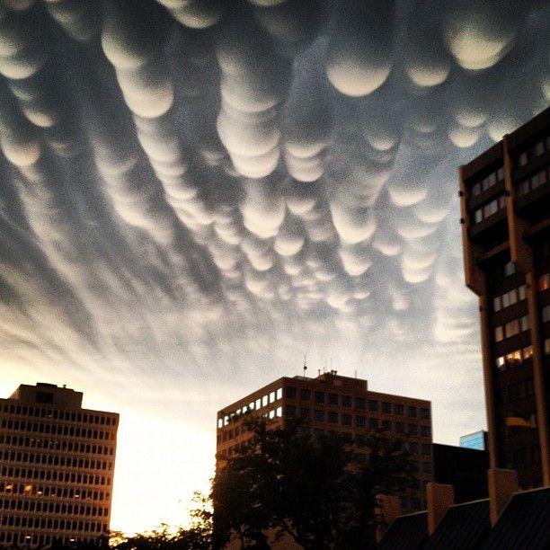 """""""Sky in downtown Regina"""""""