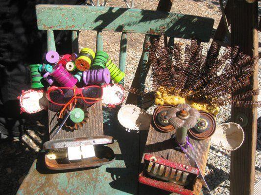 metal garden scarecrow | ... 2013 • Garden Art ideas , Garden Inspiration and ideas • Comments