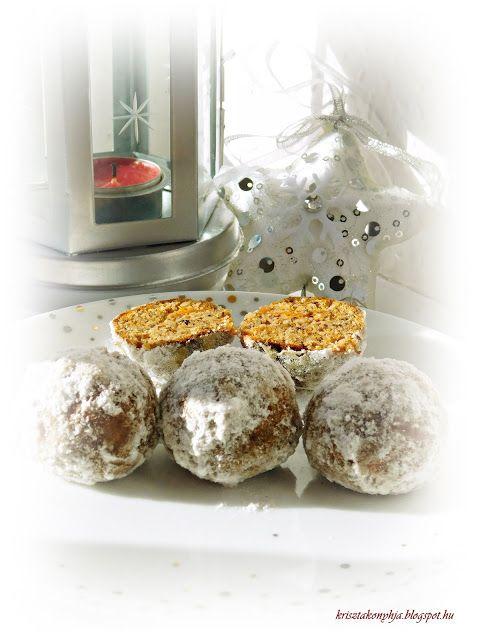 Kriszta konyhája- Sütni,főzni bárki tud!: Sütőtökös hógolyó ( paleo )