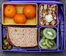 This website has ideas for bento-syle lunches for kids and adults.