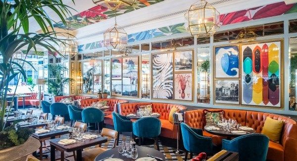 Restaurant Review The Ivy Dublin Beautiful Interior Design Beautiful Interiors Ivy Restaurant