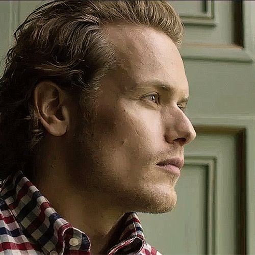 Sam Heughan brand ambassador for Barbour Shirts. September 2016. (I See Sparkly Things : Photo)