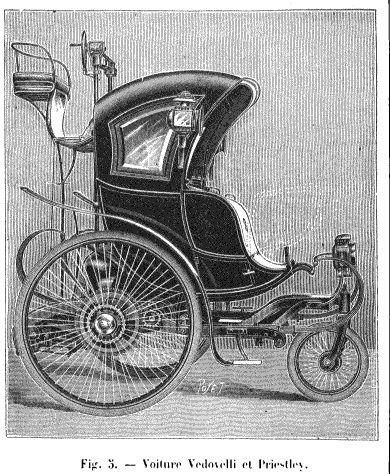 histoire de l lectricit les voitures lectriques paris vers 1900 le blog d 39 histoire des. Black Bedroom Furniture Sets. Home Design Ideas