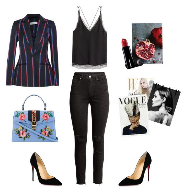 Reviewer by alena-mr on Polyvore featuring polyvore fashion style H&M Altuzarra Christian Louboutin Gucci WALL clothing
