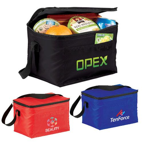 Custom imprinted budget lunch cooler bags are perfect for budget-friendly #promotion. Try now!   #BestSellers #Bags