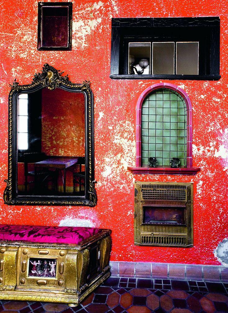 Un bar à la décoration cosmopolite - Marie Claire Maison