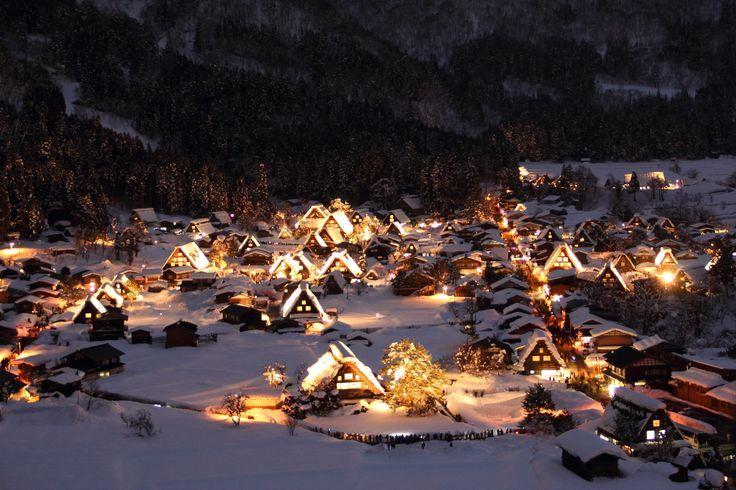 Historic Villages of Shirakawa-gō and Gokayama | Historic Villages of Shirakawa-gō and Gokayama... #白川郷 # ...