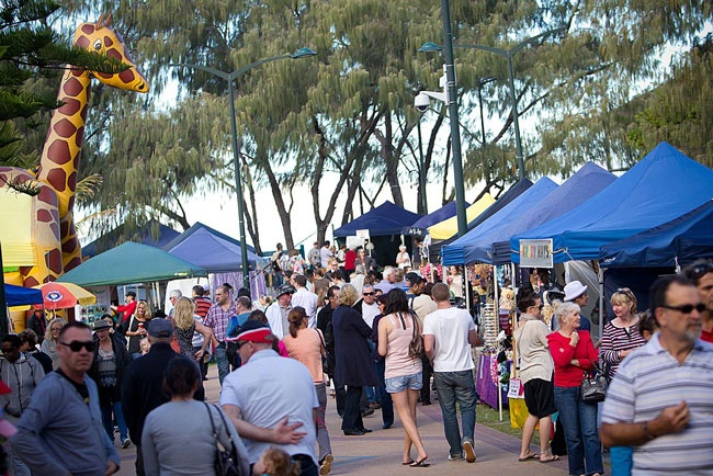 Broadbeach markets #ourgoldcoast #ourgccommunity