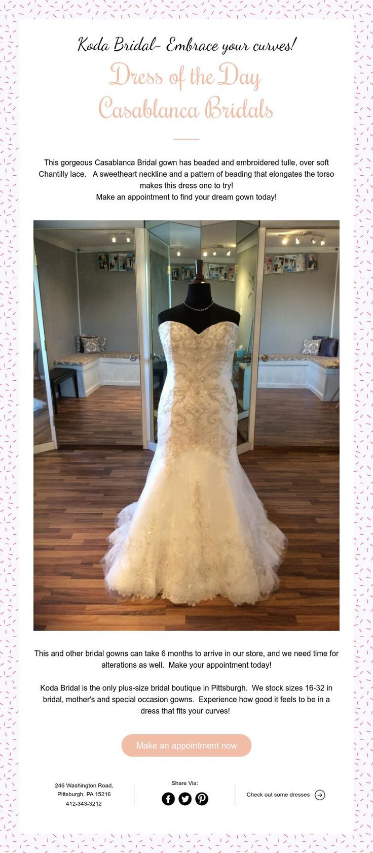 This Gorgeous Casablanca Bridal Gown Has Beaded And Embroidered Tulle Over Soft Chantilly Lace A Sweetheart Neckline Pattern Of Beading That