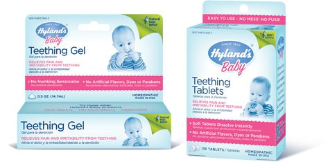 Hyland's Teething Gel and Tablets