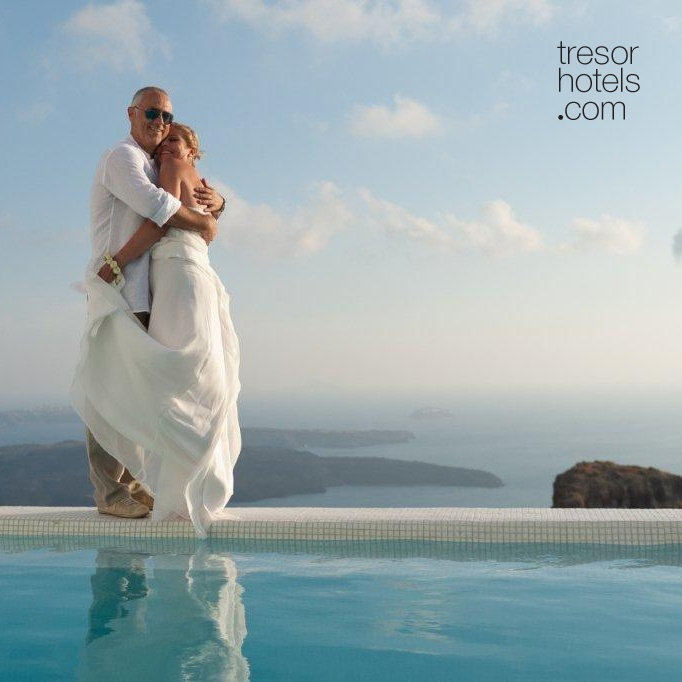Trésor Hotels & Resorts_Luxury Boutique Hotels_#Greece_ At Astra Suites #Hotel in #Santorini your #wedding #ceremony is tailored to fit your unique ideas and wishes. Don't feel like you must choose only from our suggested Santorini wedding packages, as we will give you some great ideas to get you started. But you will ultimately decide, sharing your unique vision with us, and from there we'll create together a personal #Santorini #wedding & #honeymoon package custom to fulfil your dreams!