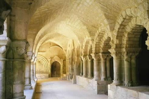 Abbaye St-Vincent à Nieul-sur-l'Autise, le Marais Poitevin