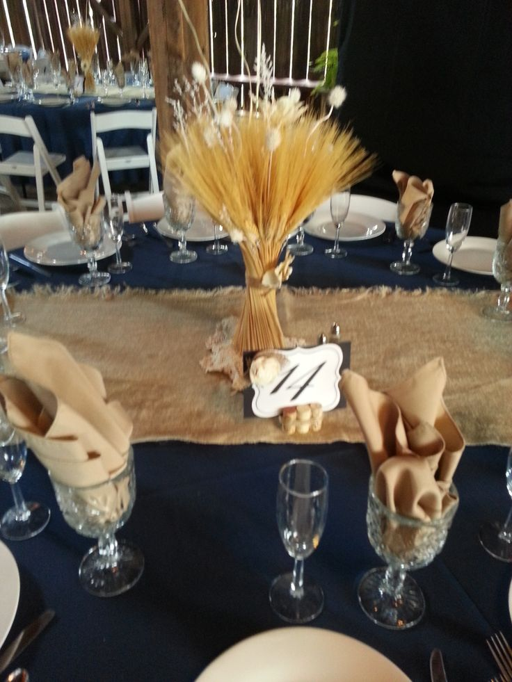 Best 25 Navy Burlap Wedding Ideas On Pinterest Country Decorations Lace Centerpieces And Rustic Centre Pieces