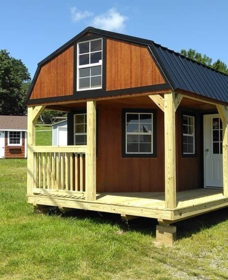 12 by 32 Lofted Barn Cabin - 12 By 32 Lofted Barn Cabin Backyard Cottage Pinterest Lofted