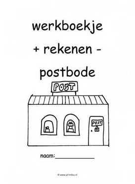 Werkboekje rekenen postbode 1