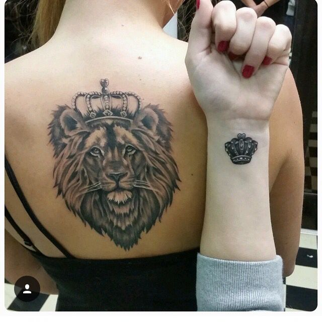 Lion tat