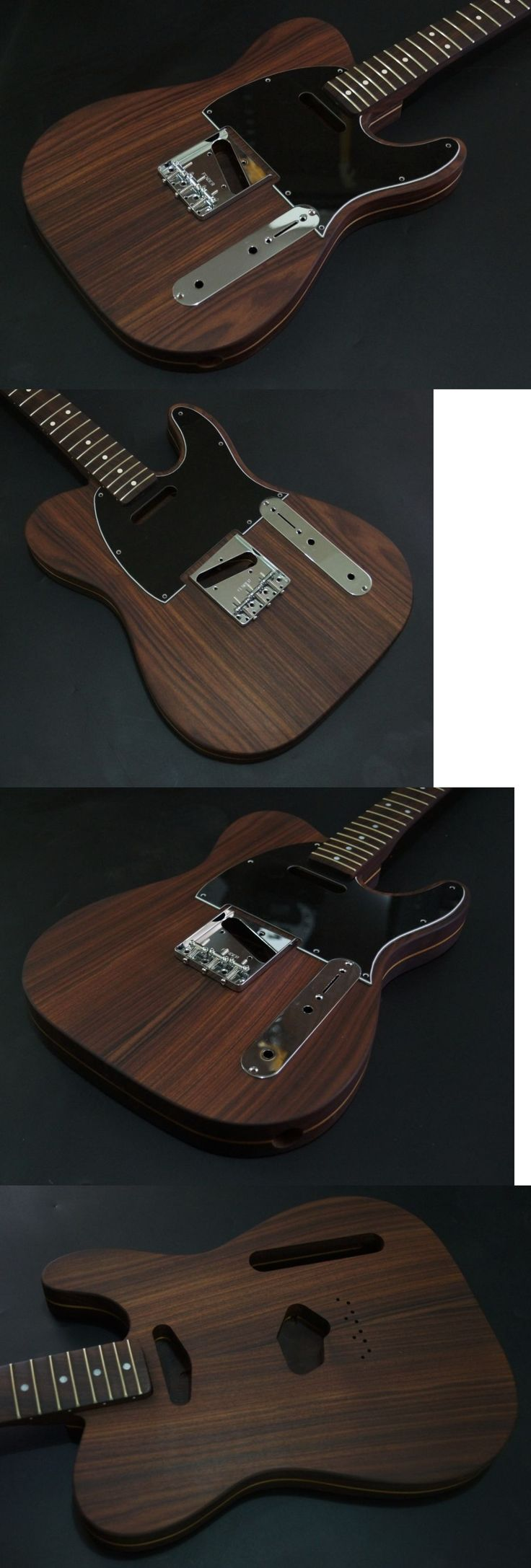 musical instruments: Rosewood Guitar Body And Neck Screw Holes For American Telecaster Bridge -> BUY IT NOW ONLY: $850 on eBay!