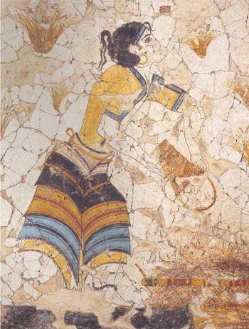 the role of women in minoan Has been long assumed to be the primary social role of aegean women  of the  women of the late bronze age aegean minoan and mycenaean societies this.