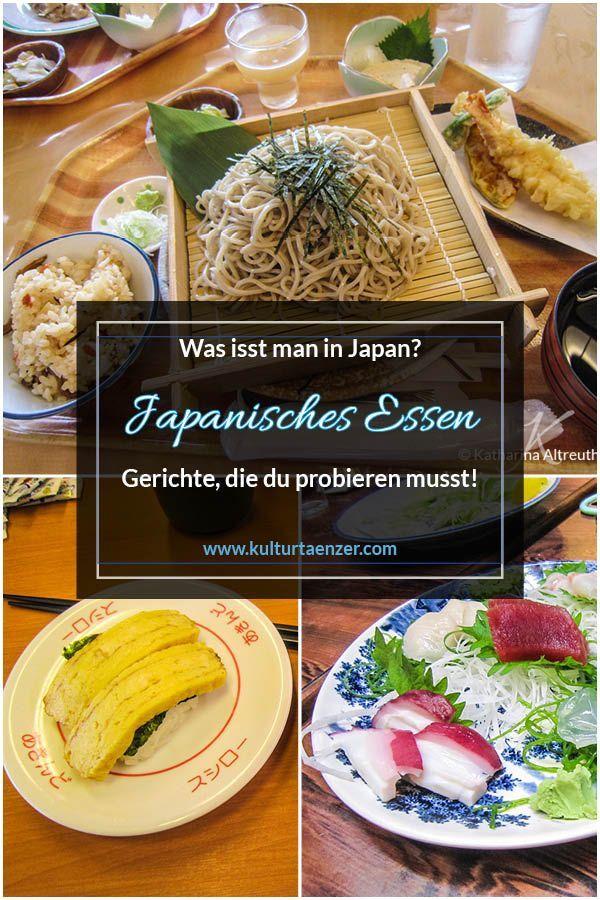 Japanisches Essen – Was isst man in Japan?