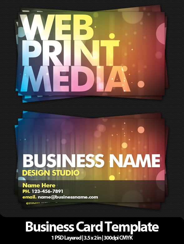 Template - Business Card # 4