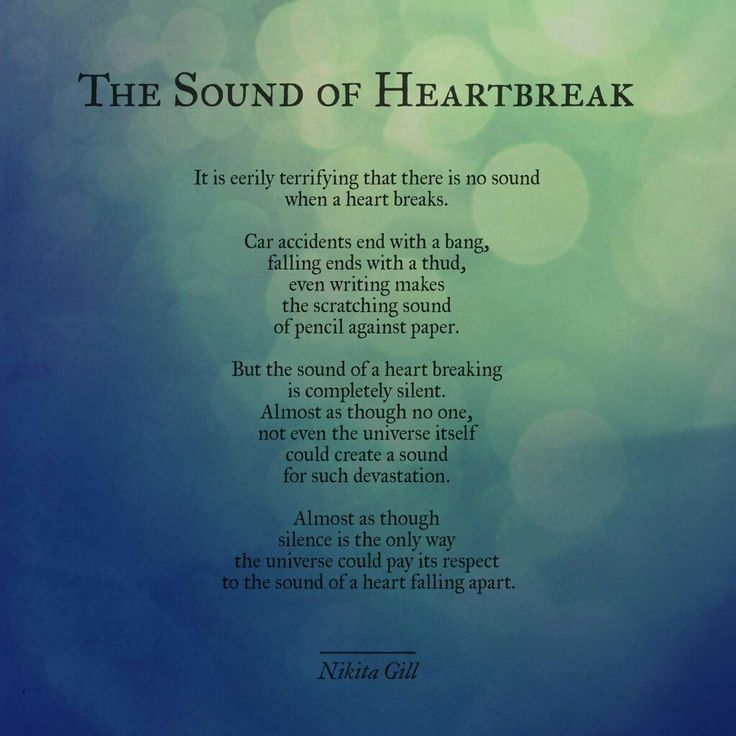 The Sound Of Heartbreak
