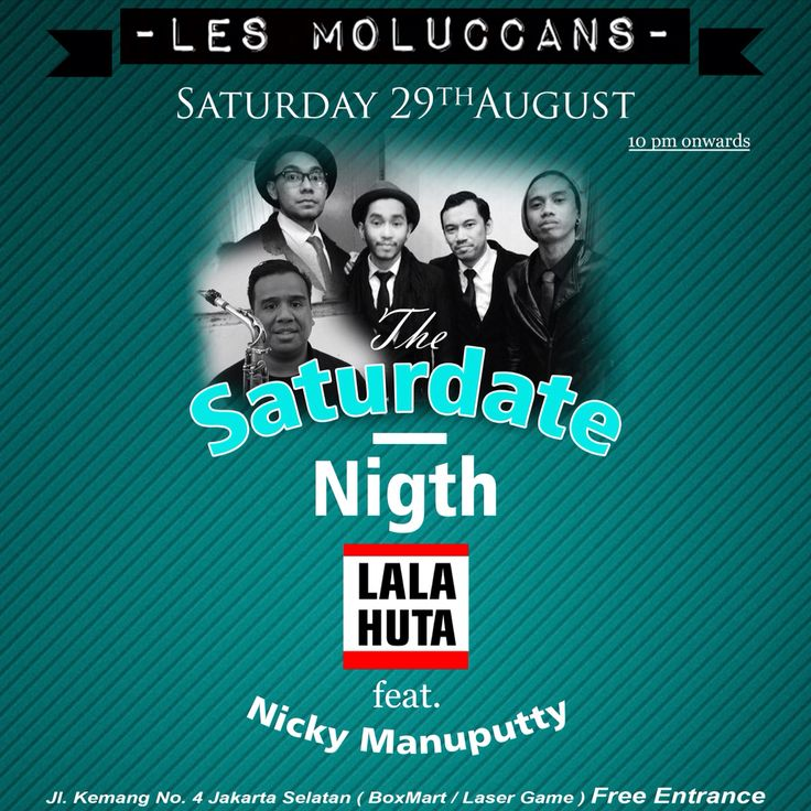 LALAHUTA feat: NICKY MANUPUTTY LIVE!! 29th august