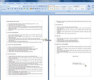 Download Contoh Tata Tertib Sekolah