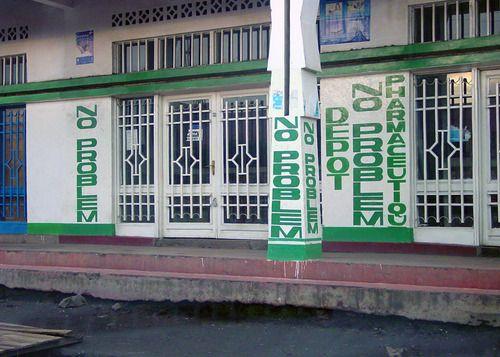 NO PROBLEM, PharmaceutiqueDepot, Goma, Nord-Kivu, DemokratischeRepublik Kongo, Foto:amalthya