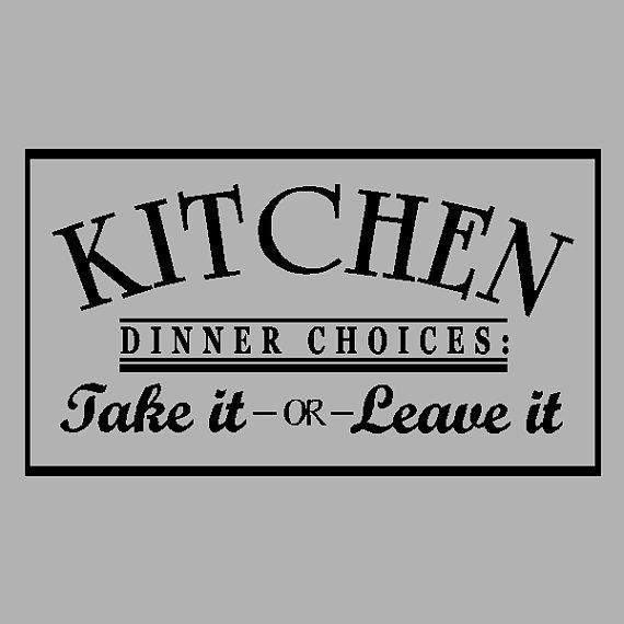 Best  Kitchen Wall Quotes Ideas On Pinterest Kitchen Quotes - Custom vinyl wall decals sayings for kitchen
