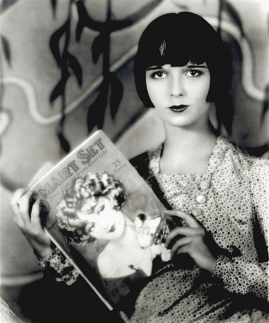 Louise Brooks, the serialist by carbonated, via Flickr