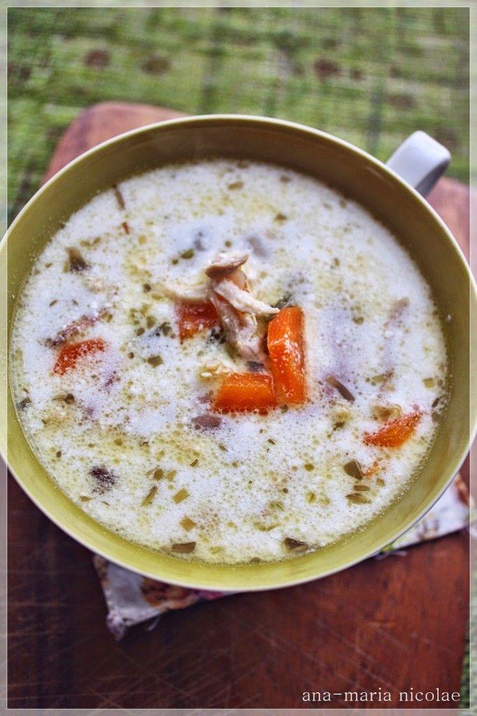 Supa de pui cu tarhon - Ama Nicolae