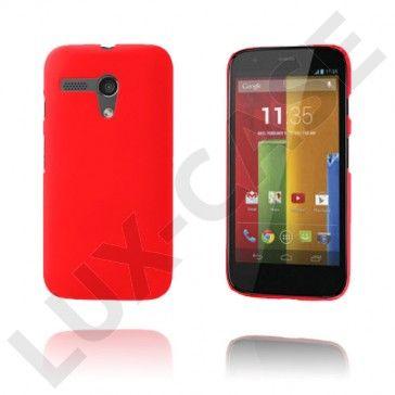 Hard Shell (Rød) Motorola Moto G Deksel