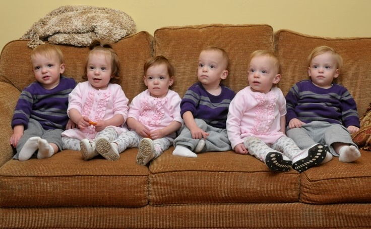 41 best Sextuplets images on Pinterest | Multiple births ...