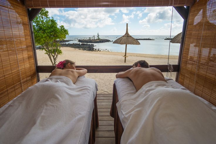 Seven Colours Spa at Veranda Pointe Aux Biches: one of the few beachfront spas in #Mauritius