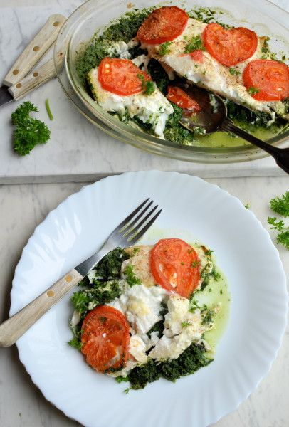 5:2 Diet Fast Day Recipe: Smoked Haddock and Spinach Gratin (200 calories)
