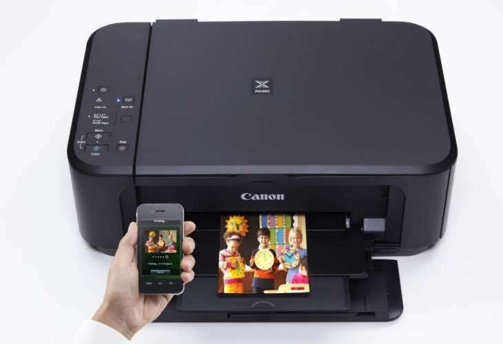 Canon Pixma MG3550 Black All-in-One Printer Scanner Copier w/ Wi-Fi & Air Print