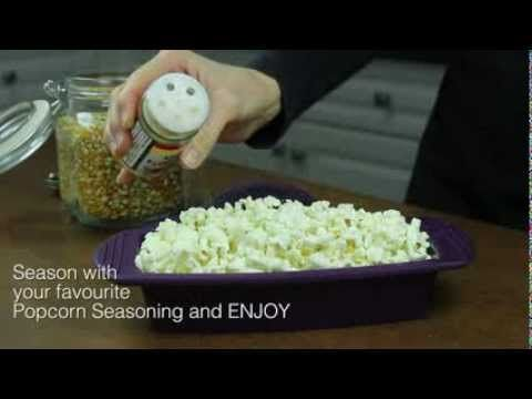 Make microwave popcorn in minutes using our Rectangle Steamer. No bag required, no fat added!