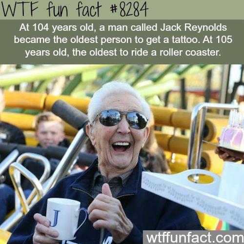 Jack Reynolds - WTF fun facts