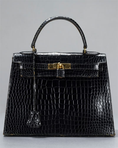 Hermes Kelly 28 cm Crocodile Alligator GHW Bag | H is for Hermes ...