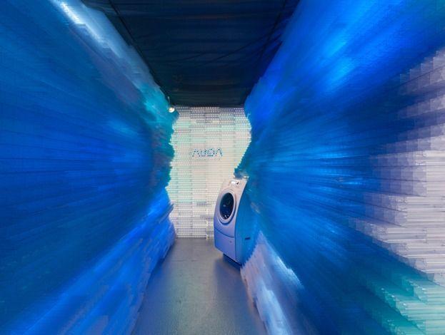 Deep aqua, container exhibition Deep Aqua,... - instalaciones efimeras