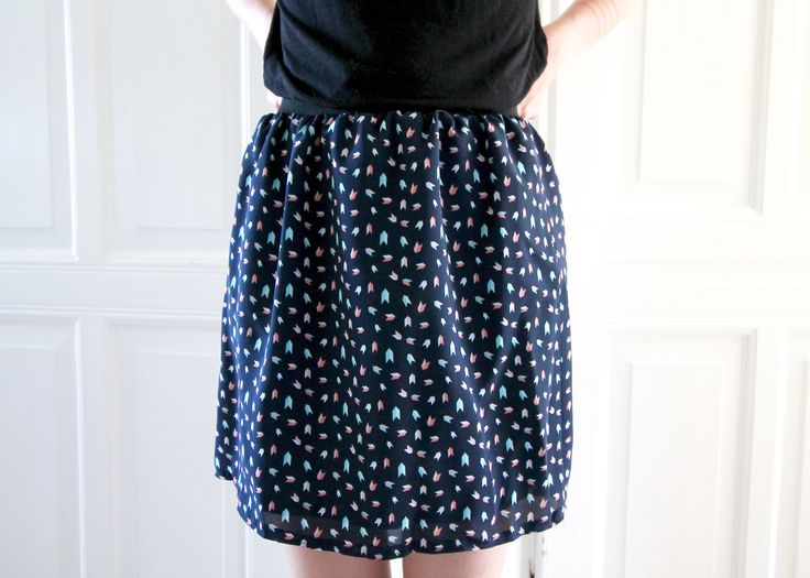 How to easily sew a summer skirt? Here's the answer.
