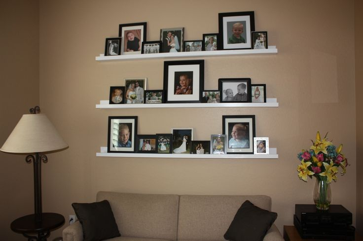 Ledge Shelf Ideas Floating Ledge Shelves Shelving