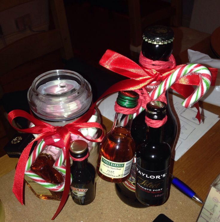 Hot choc, beer and liqueurs