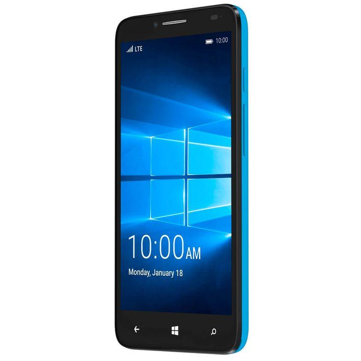Alcatel OneTouch Fierce XL (Windows), teléfono impresionante con Windows 10