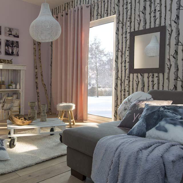 Les 25 meilleures id es de la cat gorie papier peint bouleau sur pinterest - Castorama peinture bois interieur ...