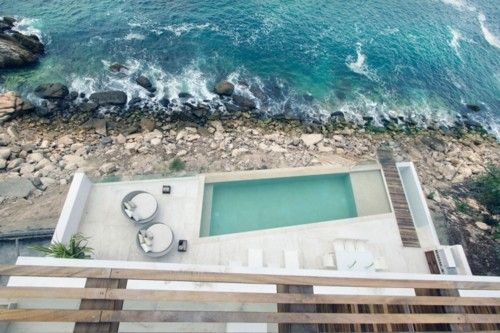 : House Design, Puerto Vallarta, Swim Pools, Curl Architect, Living Rooms Window, The Ocean, Casa Almar, Elia Curl, Modern House